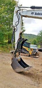 bobcat hydraulic excavator thumb grapple clamp claw     usa ebay