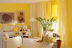 Желтый цвет в интерьере: обои, мебель, детские, ванные