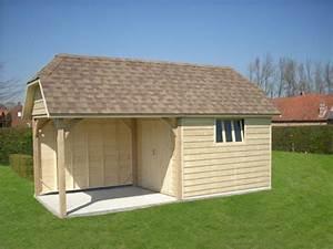 Abri De Jardin Ouvert : abri de jardin en bois ou cottage chez mega abris ~ Premium-room.com Idées de Décoration