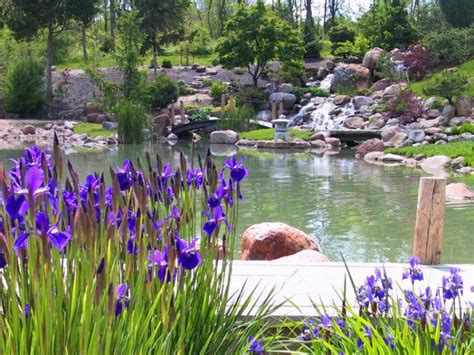 Dubuque, Iowa: Dubuque Arboretum & Botanical Gardens photo ...
