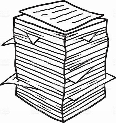 Documents Pile Clipart