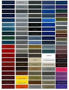 Omni-Paint-Colors.png (1275×1650) | Car paint colors, Car ...