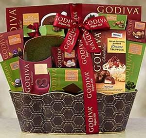 Godiva Chocolate Gift Basket Christmas Gifts