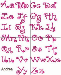 Information About Alphabet Letters In Girly Fonts Yousense Info