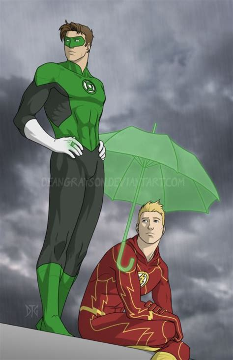green lantern and the flash best friends i wish i had a friend with a magic ring like that