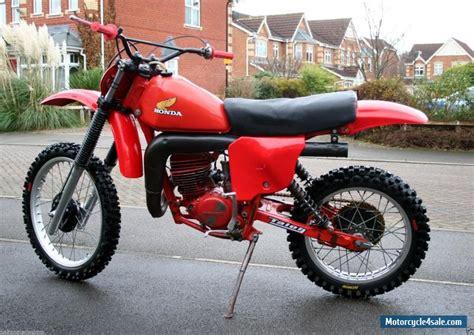 honda motocross bikes for sale 1979 honda cr 250 for sale in united kingdom