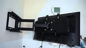 Wandhalterung Samsung Fernseher : 171 ricoo tv wandhalterung r23 youtube ~ Markanthonyermac.com Haus und Dekorationen