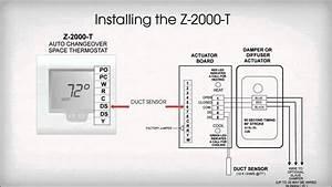 Zone One Thermostat Installation
