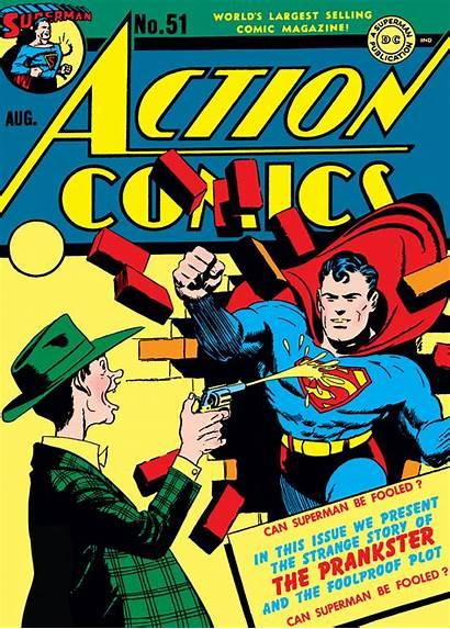 Action Comics 1938 Comic Appearance