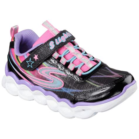 light up shoes turn off skechers girls 39 s lights lumos light up sneakers