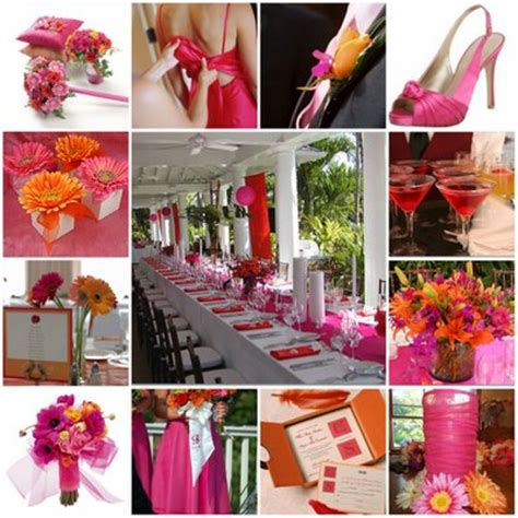fuschia wedding decorations romantic decoration