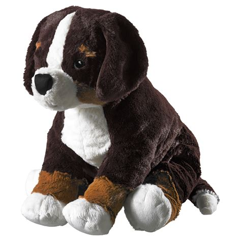 hoppig soft toy dog bernese mountain dog 36 cm ikea