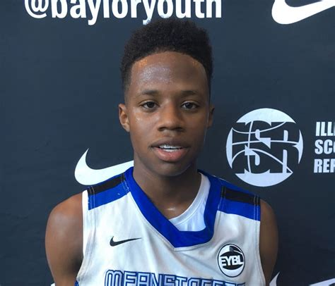 dj steward nike summer showdown baylor basketball