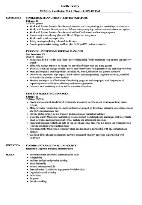 hr manager resume sle 28 resume skills sles