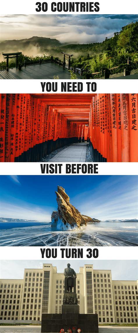 countries   visit   turn  tripsget