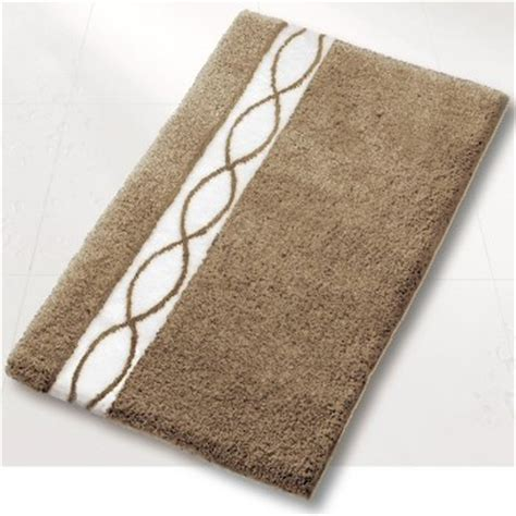 contemporary taupe bathroom rug contemporary bath mats other by vita futura