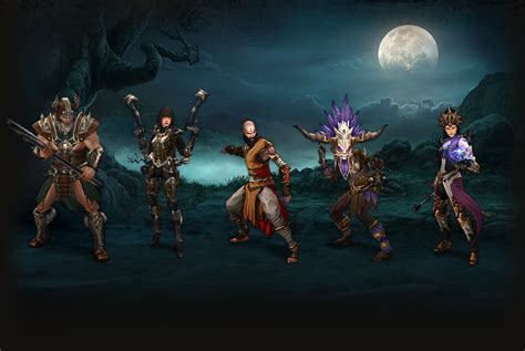 Choosing Your Class - Game Guide - Diablo III