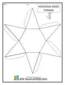 3D Geometric Shapes Worksheet