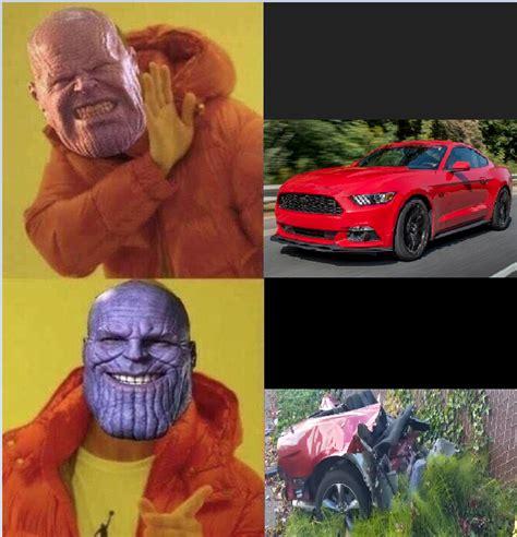 Thanos Car Shopping Thanosdidnothingwrong