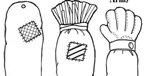 scarecrow   paper  crafts