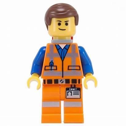 Lego Emmet Clipart Minifigure Lopsided Smile Leg