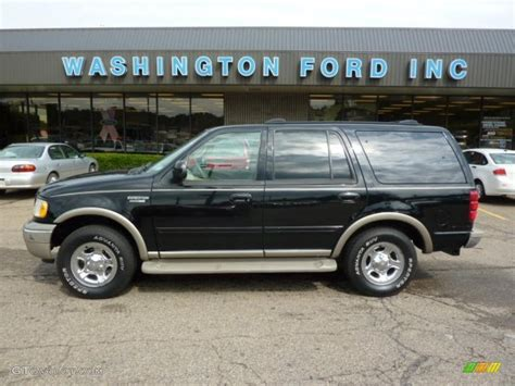 black ford expedition eddie bauer