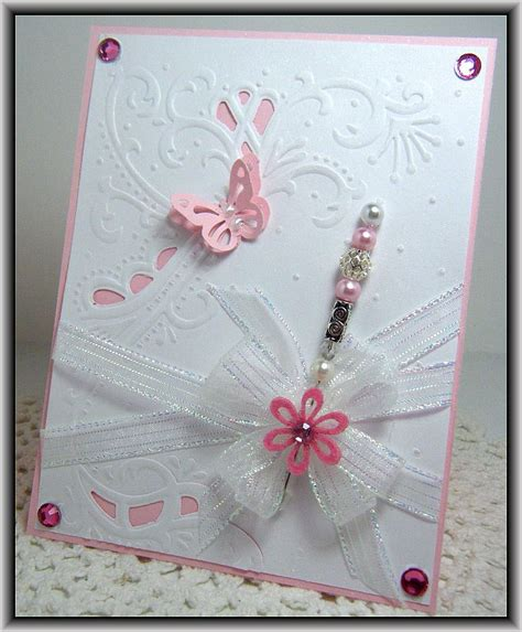 Cards Using Marianne Embossing Folders