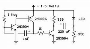 15v led flasher circuits circuit diagram world With two transistor lamp flasher circuit diagram