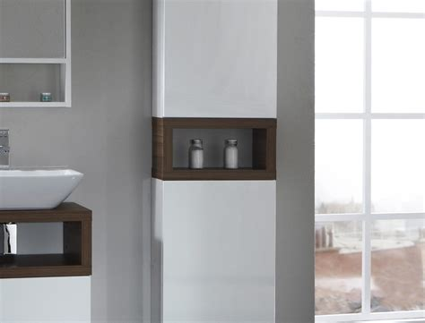 Well Suited Tall Linen Cabinet