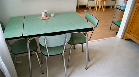 table cuisine formica vert formica merci ginette