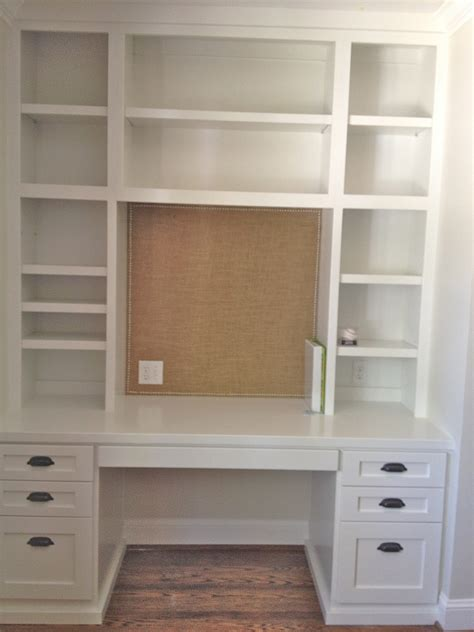 built in desk and bookshelves diy built in bookcase and desk perfect on the opposite