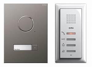 Gira Audio Door Entry System Mod 2  Audio Only Door Entry  Giraaudiomodel2