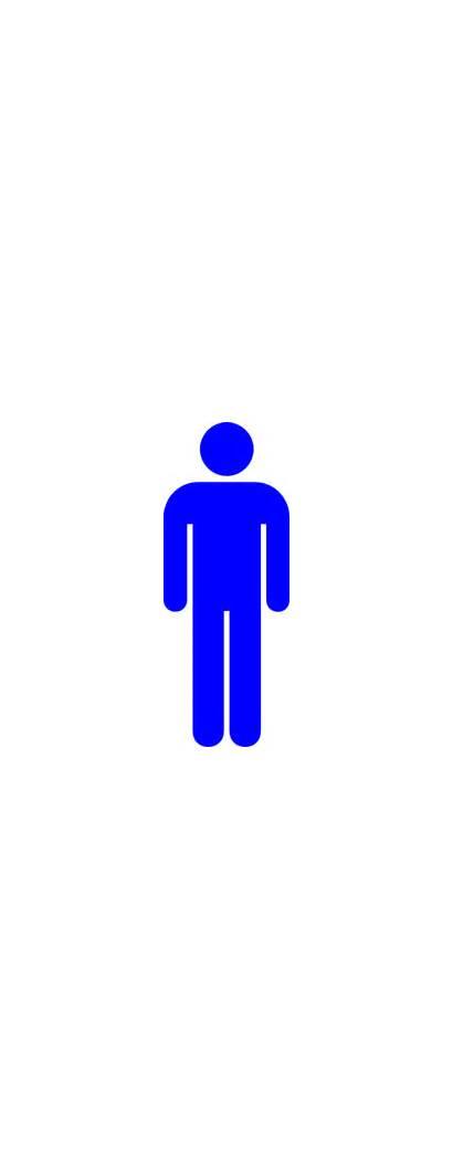Male Toilet Symbol Clip Clipart Clker Yoel