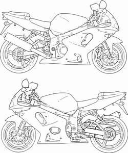suzuki motorcycle colouring pages With suzuki gsx1300r