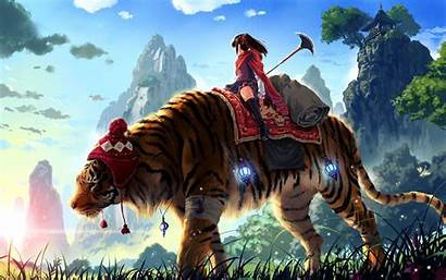 Wallpapers Backgrounds Wall Anime Tiger Desktop Cool