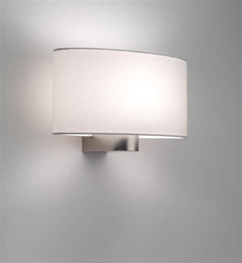 Astro Napoli 0881 oval lampshade wall light 60W E27 matt