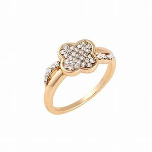 2018 Latest Design Rose Gold Plated Womens Engagement ...