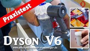 Staubsauger Saugleistung Test : dyson v6 der akku staubsauger im test funnycat tv ~ Michelbontemps.com Haus und Dekorationen