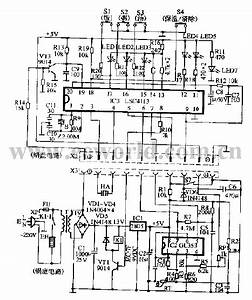 Rice Cooker Circuit Diagram 01