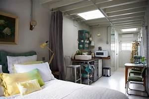 Studio Apartment Decor, Tiny Efficiency Apartment ...