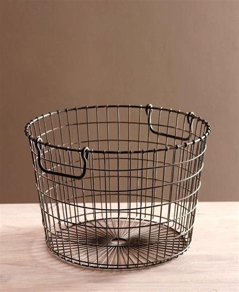 25 vintage wire baskets ideas on wall