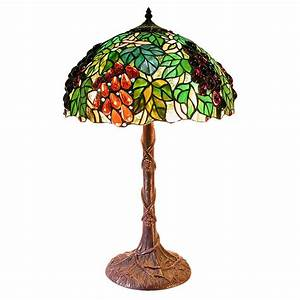 tiffany style jewel grape table lamp 224679 lighting at With tiffany style grape floor lamp