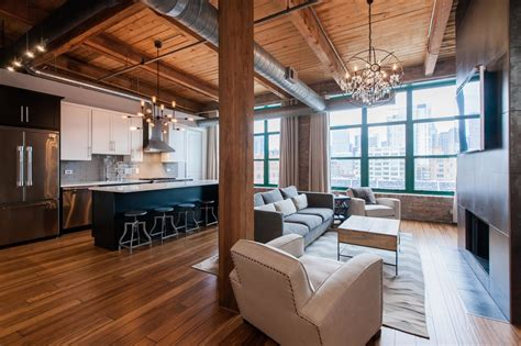 west loop loft  exposed brick  chicago tribune