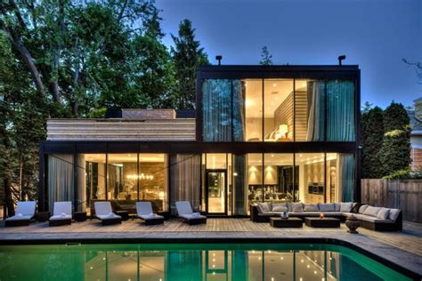 gorgeous glass house designs