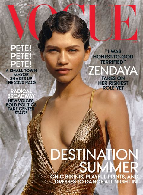 zendaya vogue  june  celebmafia