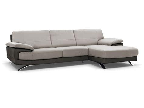 canapé d angle cuir gris anthracite canapé d 39 angle droit cuir luxe gris anthracite emotion