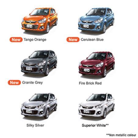 Alto K10 colours - CarBlogIndia