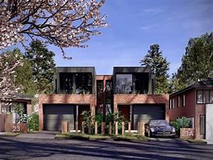 Contemporary Dual Occupancy  Duplex Design In Sydney