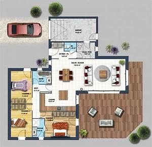 constructeur maison contemporaine beauvoir sur mer vendee With plan de maisons gratuit 4 maisons cate atlantique constructeur