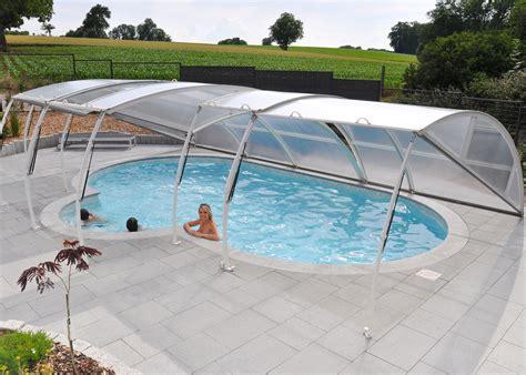 pour piscine abri amovible pour piscine piscines waterair
